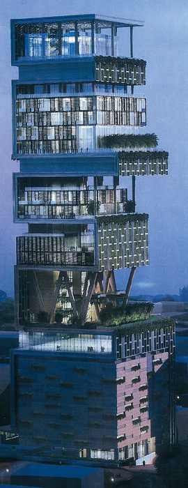 2013亚洲10大超级豪宅揭晓 中国占据6席