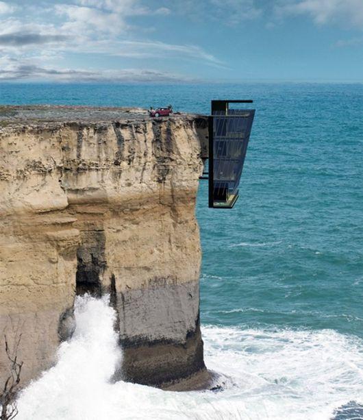 建在悬崖上的房屋,Cliff House