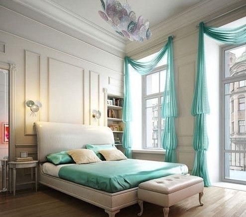 网友问:请看图片中卧室床摆放的位置,是A好呢还是B好呢.能否给个建议。