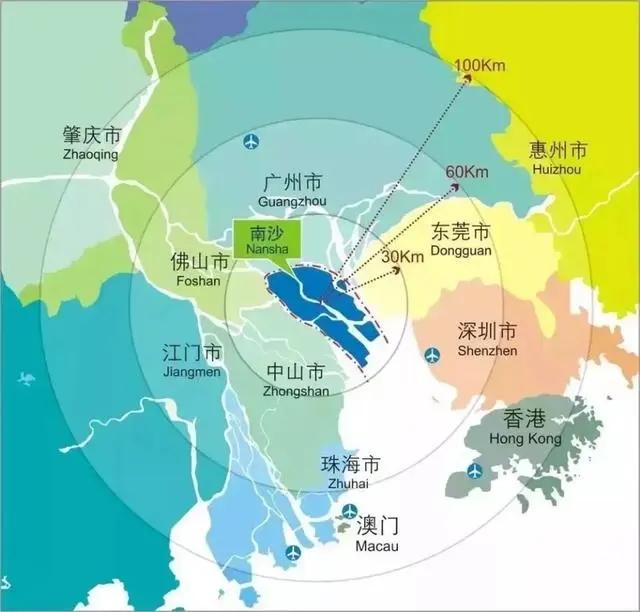 四大条件让南沙成为湾区下一个国际CBD